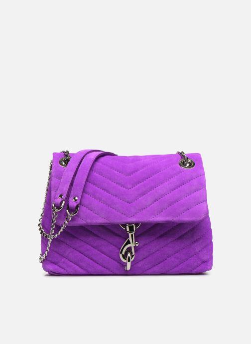 Handbags Rebecca Minkoff EDIE XBODY FLUO SUEDE Purple detailed view/ Pair view