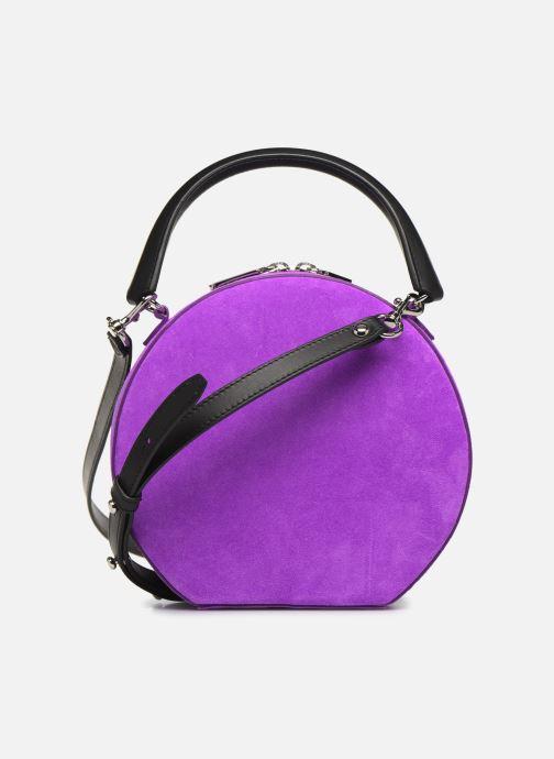 Sacs à main Rebecca Minkoff CIRCLE BAG FLUO SUEDE Violet vue face