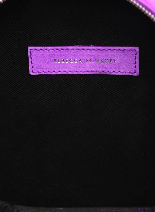 Sacs à main Rebecca Minkoff CIRCLE BAG FLUO SUEDE Violet vue derrière