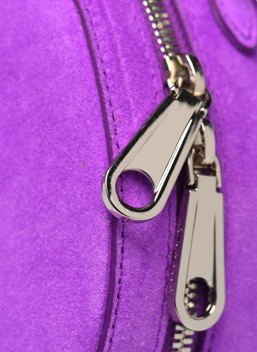 Sacs à main Rebecca Minkoff CIRCLE BAG FLUO SUEDE Violet vue gauche