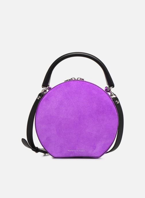 Sacs à main Rebecca Minkoff CIRCLE BAG FLUO SUEDE Violet vue détail/paire