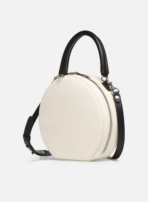 Sacs à main Rebecca Minkoff CIRCLE BAG PYTHON Blanc vue portées chaussures