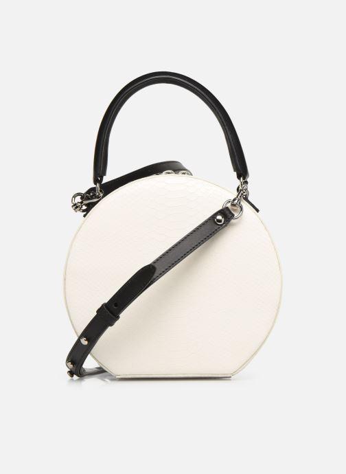 Sacs à main Rebecca Minkoff CIRCLE BAG PYTHON Blanc vue face