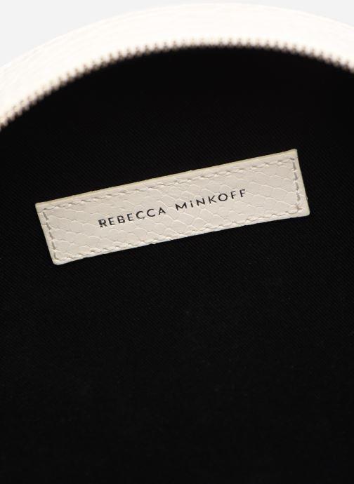 Sacs à main Rebecca Minkoff CIRCLE BAG PYTHON Blanc vue derrière