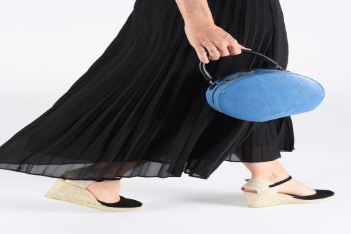 Sacs à main Rebecca Minkoff CIRCLE BAG PYTHON Blanc vue bas / vue portée sac