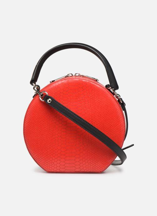 Sacs à main Rebecca Minkoff CIRCLE BAG PYTHON Rouge vue face