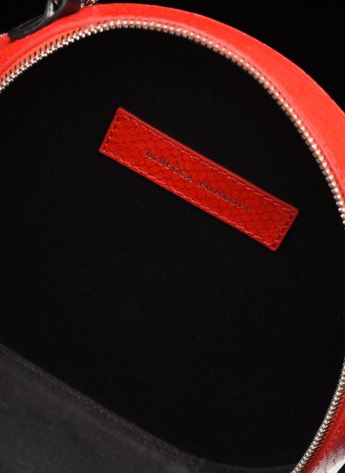 Handtassen Rebecca Minkoff CIRCLE BAG PYTHON Rood achterkant