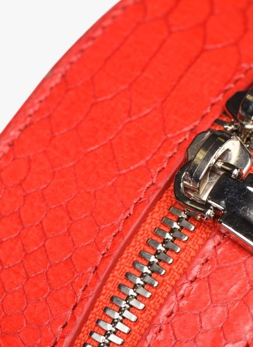 Handbags Rebecca Minkoff CIRCLE BAG PYTHON Red view from the left