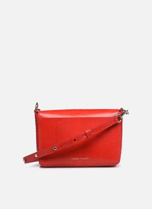 Handtaschen Rebecca Minkoff MAB FLAP CROSSBODY PYTHON rot ansicht von vorne
