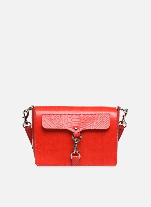 Handtaschen Rebecca Minkoff MAB FLAP CROSSBODY PYTHON rot detaillierte ansicht/modell