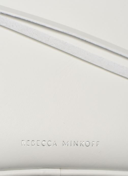 Sacs à main Rebecca Minkoff BIG CAMERA BAG NAPPA Blanc vue gauche