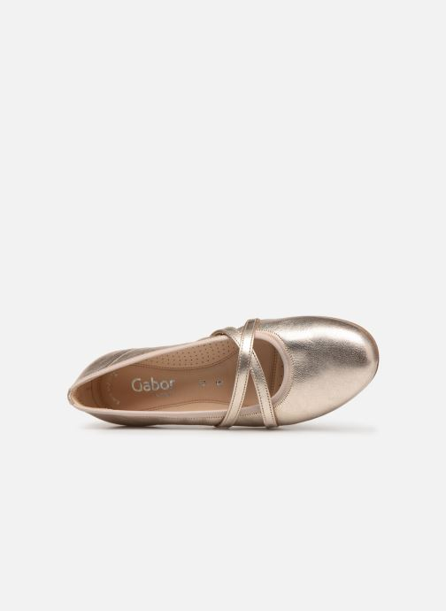 Gabor Malia Malia Malia (Gold bronze) - Ballerinas bei Más cómodo 3c0922