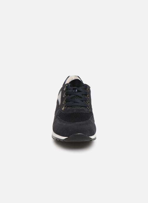 Baskets Gabor Angela Bleu vue portées chaussures