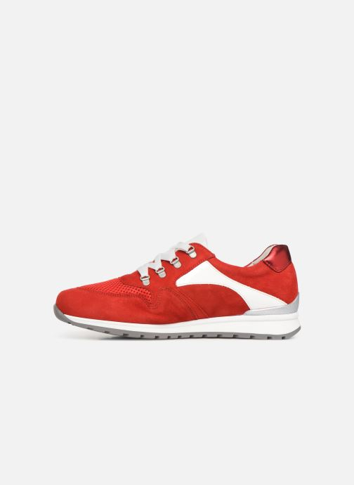Sneakers Gabor Angela Rosso immagine frontale