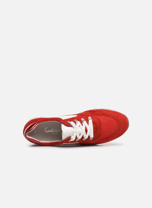 Sneakers Gabor Angela Rosso immagine sinistra