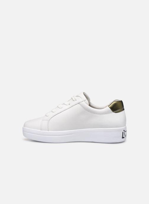 Sneaker Gabor Lyloo weiß ansicht von vorne