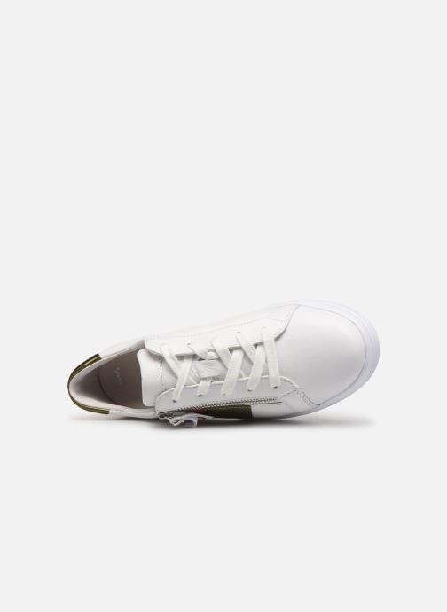 Sneaker Gabor Lyloo weiß ansicht von links