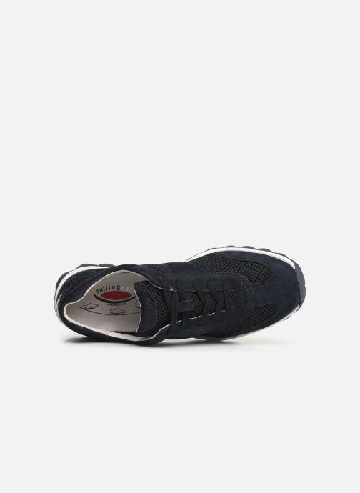 Sneaker Gabor Meryl blau ansicht von links