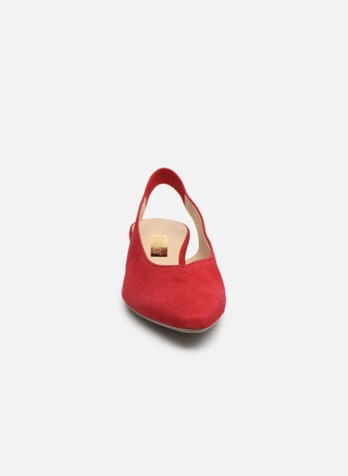 Escarpins Gabor Liv Rouge vue portées chaussures