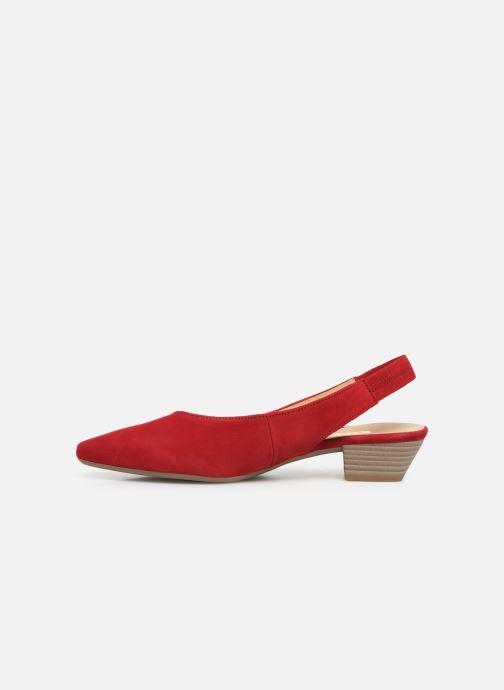 Zapatos de tacón Gabor Liv Rojo vista de frente