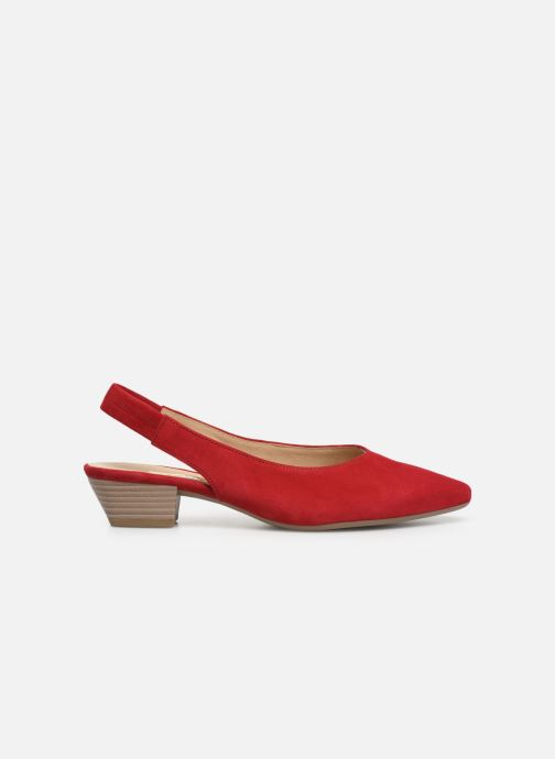 Zapatos de tacón Gabor Liv Rojo vistra trasera