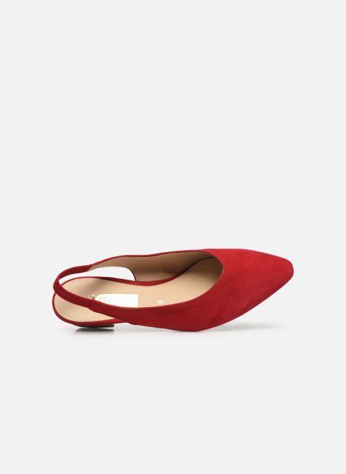 Zapatos de tacón Gabor Liv Rojo vista lateral izquierda