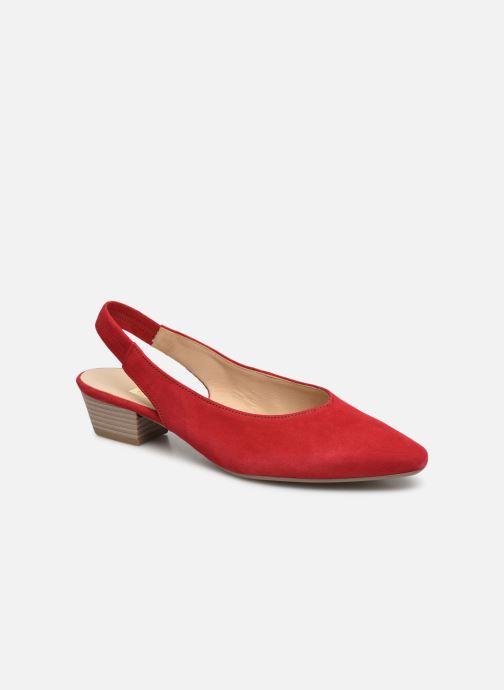 Zapatos de tacón Gabor Liv Rojo vista de detalle / par