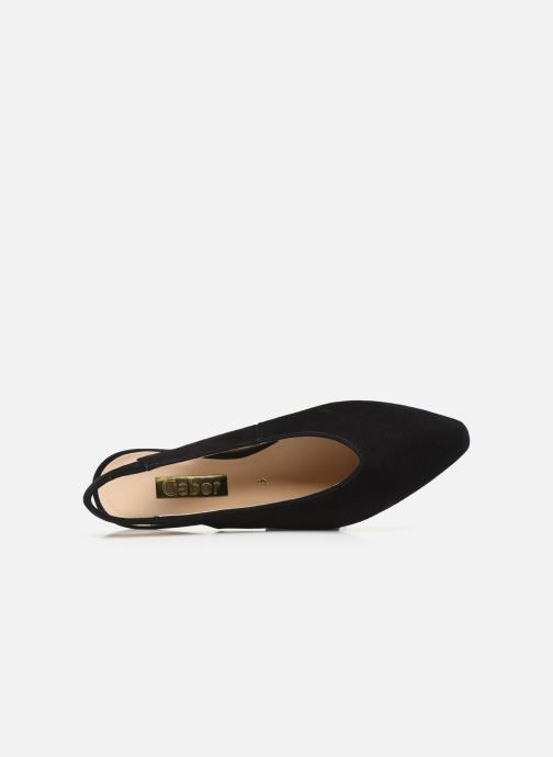 Zapatos de tacón Gabor Liv Negro vista lateral izquierda