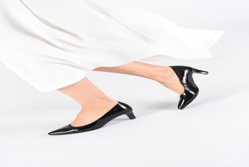 Zapatos de tacón Gabor Malika Negro vista de abajo