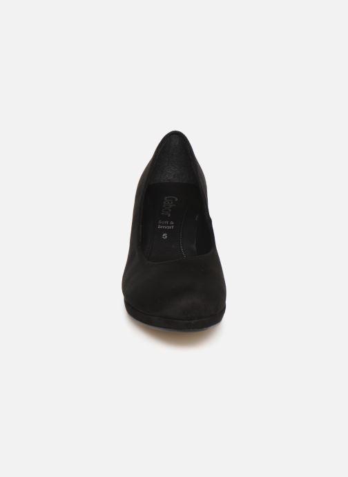 Pumps Gabor Elyna schwarz schuhe getragen