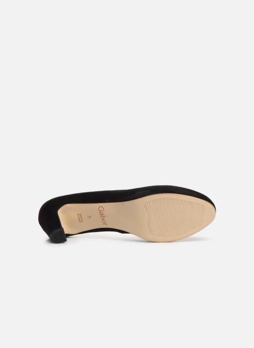 Zapatos de tacón Gabor Elyna Negro vista de arriba