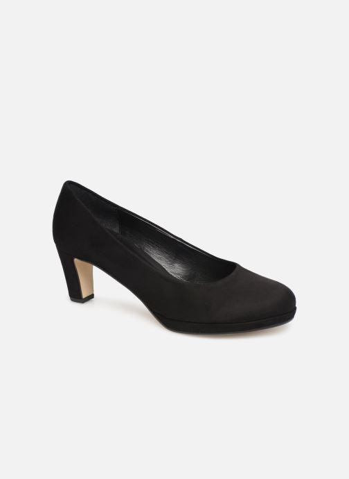 Høje hæle Gabor Elyna Sort detaljeret billede af skoene