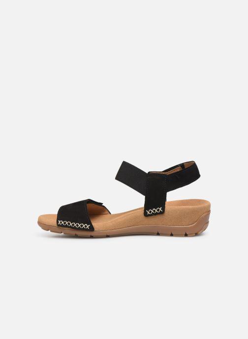 Sandales et nu-pieds Gabor Eryn Noir vue face