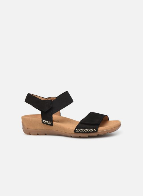 Sandales et nu-pieds Gabor Eryn Noir vue derrière