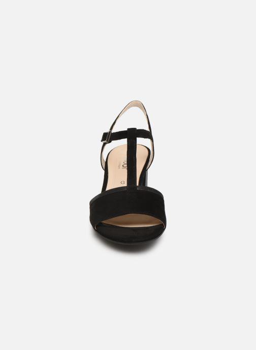 Sandales et nu-pieds Gabor Orlane Noir vue portées chaussures