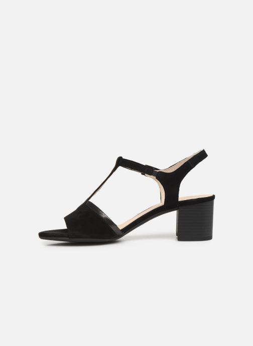 Sandales et nu-pieds Gabor Orlane Noir vue face