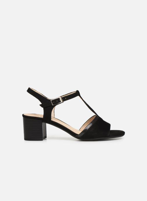 Sandales et nu-pieds Gabor Orlane Noir vue derrière