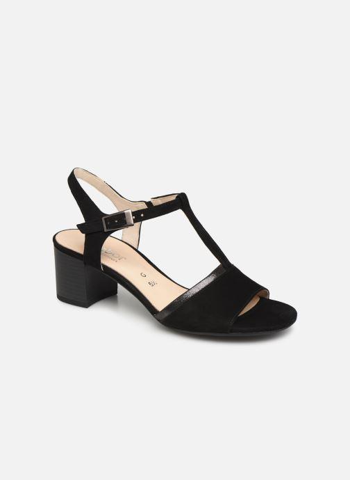 Sandales et nu-pieds Gabor Orlane Noir vue détail/paire