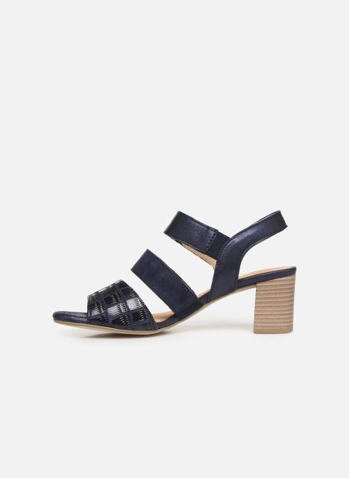 Sandales et nu-pieds Gabor Lexy Bleu vue face