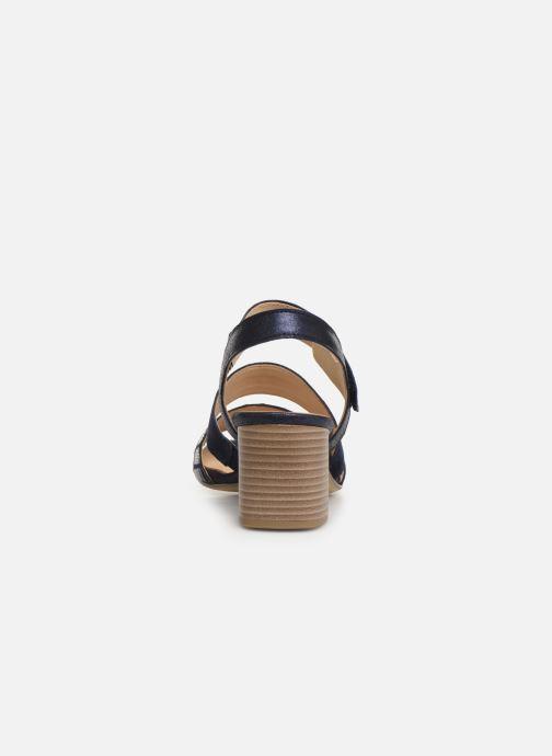 Sandales et nu-pieds Gabor Lexy Bleu vue droite