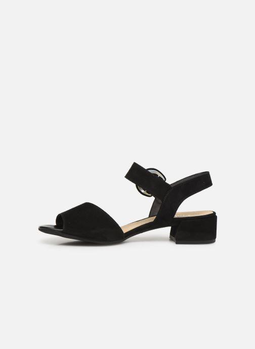 Sandales et nu-pieds Gabor Florine Noir vue face