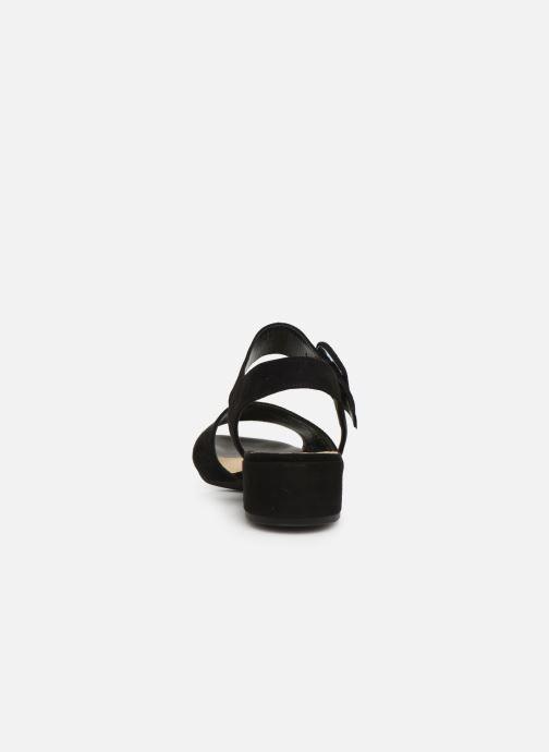 Sandales et nu-pieds Gabor Florine Noir vue droite