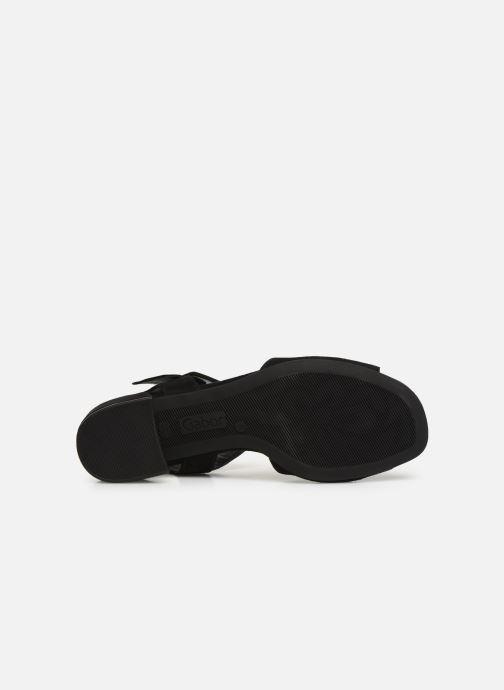 Sandales et nu-pieds Gabor Florine Noir vue haut
