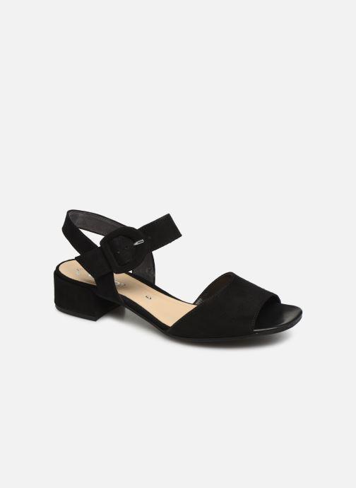 Sandales et nu-pieds Gabor Florine Noir vue détail/paire