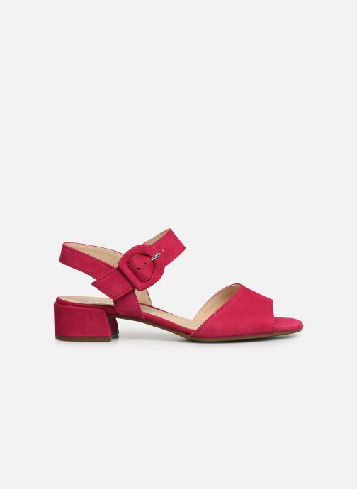Sandales et nu-pieds Gabor Florine Rose vue derrière