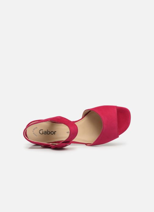 Sandals Gabor Florine Pink view from the left