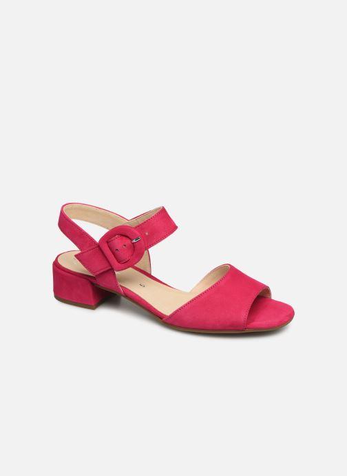Sandales et nu-pieds Gabor Florine Rose vue détail/paire