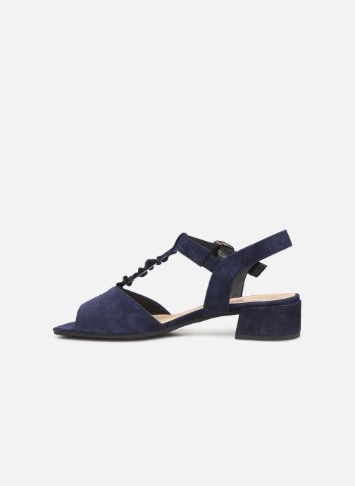 Sandales et nu-pieds Gabor Alycia Bleu vue face