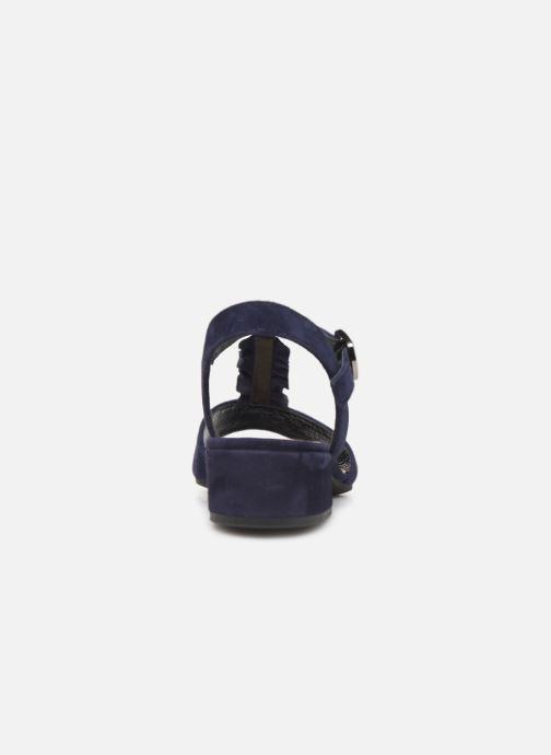 Sandales et nu-pieds Gabor Alycia Bleu vue droite