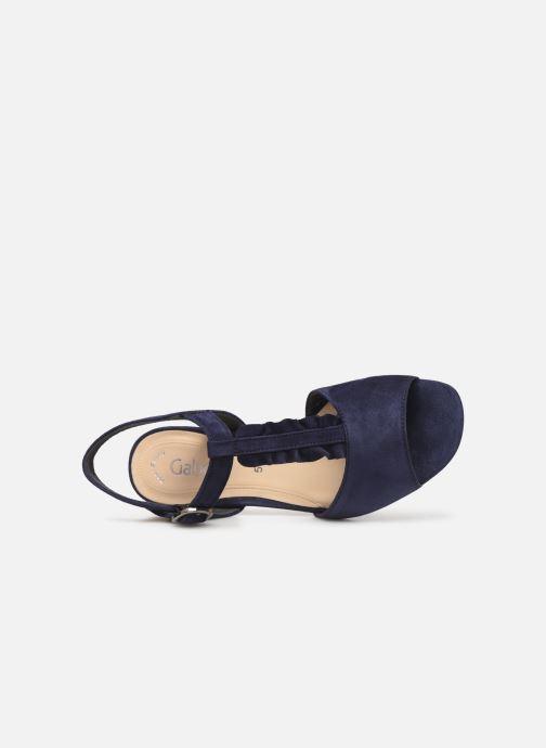 Sandales et nu-pieds Gabor Alycia Bleu vue gauche